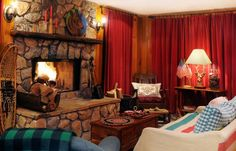 Cosy country cabin rooms - Bing images