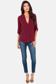 8d1f03dc67 37 Best Burgundy top images