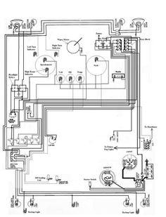1966 1967 1968 1969 vw karmann ghia diagrama de cableado