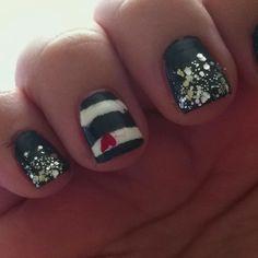 4th Of July Nail Art.