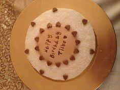 Sparkly buttercream cake Buttercream Cake, Celebration Cakes, Birthdays, Birthday Cake, Cookies, Desserts, Christmas, Food, Shower Cakes