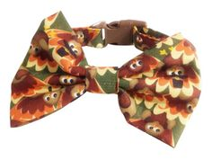 THANKSGIVING BOW TIE WWW.SPIFFYPOOCHES.COM