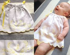 adorable and classic baby fashion from Etsy