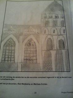 Kerk Xanten cijfer 8 (samen met de waterspuwer)