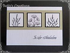 Trauerkarte - Bettys-creations