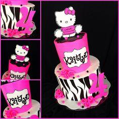 Hot Pink and zebra hello kitty | Title ya self explanatory! | Flickr