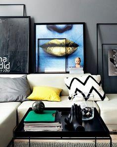 Pra fechar a noite um espaço contemporâneo.  #casademenino #decoração #decor #style #diy #tips #tipsdecor #lovedecor #instadecor #dicas #home #homedecor #interior #arquitetura #design #homesweethome #furniture #mobiliario #casadecorada by casademenino