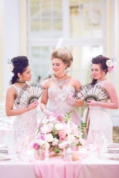 A Marie Antoinette Wedding Inspiration at the Amway Grand Plaza Hotel in Grand Rapids, Michigan Mismatched Bridesmaid Dresses, Wedding Dresses, Whimsical Wedding Theme, Plaza Hotel, Marie Antoinette, Different Styles, Wedding Inspiration, Wedding Ideas, Dream Wedding