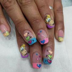 Natural Acrylic Nails, Magic Nails, Birthday Nails, Pedicure, Nail Designs, Hair Beauty, Nail Art, How To Make, Castiel