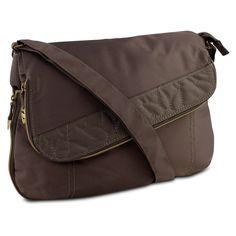 Travelon RFID Flap Front Shoulder Bag - Brown – Barsa Store