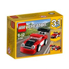 Up for sale is a LEGO Creator Red Racer. This LEGO Creator Red Racer comes new in original packaging and includes 72 LEGO Pieces. - This LEGO Creator Red Go-Kart can be yours for - Shipping for this item with delivery confirmation included will be 6 Fast Sports Cars, Exotic Sports Cars, Sport Cars, Lego Creator Sets, The Creator, Legos, Lego Age, Walmart, Car Racer
