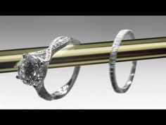 """Tacori """"Cupid's Arrow"""" commercial...   """"the mythic message of true love.""""...  A metaphor for the engagement ring.  This is """"a romantic personification of Tacori's """"Golden Arrow"""" print """"."""