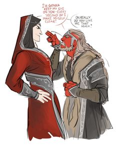 Melkor and Tulkas>>...this really isn't that funny, but I feel a part of some exclusive club for understanding it...