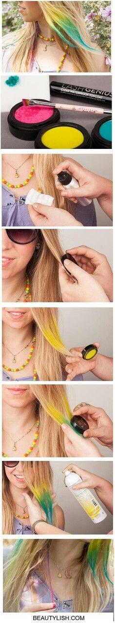 Colores en el cabello