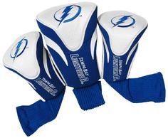 NHL Tampa Bay Lightning 3 Pack Contour Headcovers