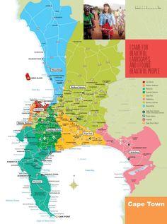 Cape Town suburbs map