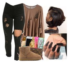 """."" by envymeeeee ❤ liked on Polyvore featuring UGG Australia"
