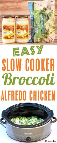 Slow Cooker Chicken Recipes Easy Crockpot Broccoli Alfredo Chicken! Just 3 ingredients and perfect for those busy weeknights! Low carb and a fun family favorite!! ...story I wrote for today's column has been sauteed with some onions leeks and garlic and eaten with a glass of good wine.I was really hungry.This year...ons is the fun part - at least it is for this flavor-hungry former caterer who has decided to tackle the challenge of losing weight in 2007.Farmer's M #keenrecipes.com…