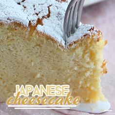 You have to try this yummy recipe of the famous japanese cheesecake, so fluffy and smooth ! - Recipe : Japanese cheesecake, so fluffy! No Bake Desserts, Dessert Recipes, Sushi Recipes, Gourmet Desserts, Plated Desserts, Japanese Cheesecake Recipes, Japanese Fluffy Cheesecake, Japanese Cheescake, Pumpkin Cheesecake