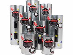 HJ Cooper Enamel Mains Pressure Hot Water Cylinders