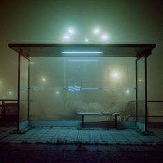Eerie Urban Misty Night Photography | Kaspar Bossers