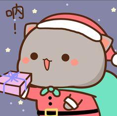 Cartoon Drawings Of Animals, Kawaii Drawings, Cartoon Pics, Cute Cartoon, Cute Drawings, Chibi Cat, Kawaii Chibi, Kawaii Cat, Kawaii Anime