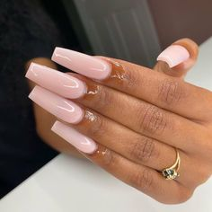 Long Square Acrylic Nails, Best Acrylic Nails, Square Nails, Summer Acrylic Nails, Brown Acrylic Nails, Pastel Nails, Aycrlic Nails, Swag Nails, Coffin Nails