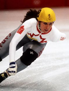 Nathalie Lambert (1992 Albertville Olympic winter Games)  (CP PHOTO/COA/Ted Grant)
