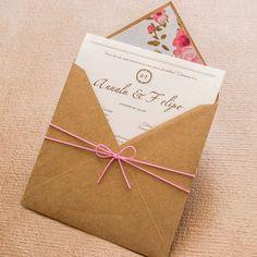 Confira lindos convites simples para o seu casamento e inspire-se nesse estilo…