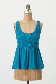 Tucked Empire Tank (Anthropologie) looks like a good postpartum top