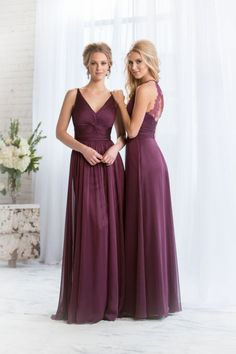 Winter Bridesmaid Dresses  #bridalwear love the style NOT the color!!! :)
