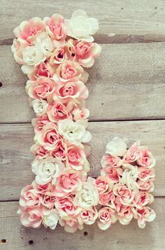 Gorgeous floral monogram