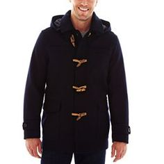 jcpenney.com | Claiborne Duffle Coat Size m or l Like thi