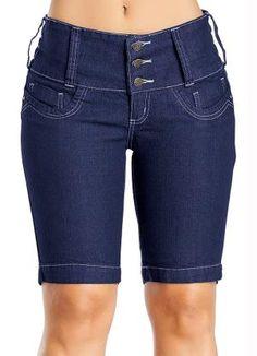 Gostei deste produto do Portal Posthaus! Bermuda Jeans Feminina