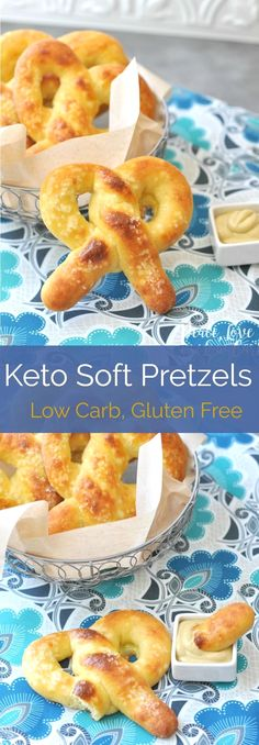 All of the delicious chewiness of a real soft pretzel, but low carb and keto friendly. The keto soft pretzels are sure to impress… Ingredients [ For 14 to 15 people ] [ Preparation time : 12 minute – Cooking time : 35 minutes ]. Ketogenic Recipes, Ketogenic Diet, Low Carb Recipes, Healthy Recipes, Snacks Recipes, Paleo Diet, Crockpot Recipes, Ketogenic Breakfast, Atkins Recipes