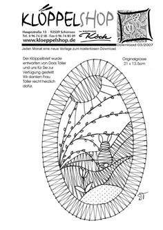 Bobbin Lacemaking, Bobbin Lace Patterns, Lace Making, Lace Knitting, Pet Birds, Crochet, Tatting, Free Pattern, Diy And Crafts