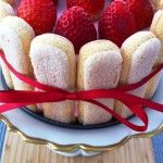 Strawberry-Cranberry Charlotte Russe Recipe - CHOW.com