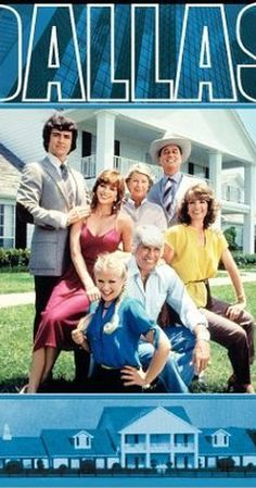 Created by David Jacobs.  With Larry Hagman, Ken Kercheval, Patrick Duffy, Linda Gray. The soapy, backstabbing machinations of Dallas oil magnate J.R. Ewing and his family.