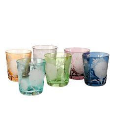 Glass Peony 6 pcs - Pol's Potten - BijzonderMOOI* Dutch design online