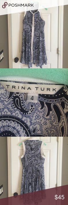 Great condition Trina Turk dress Beautiful (worn once) Trina Turk dress. Hate to let this one go but it doesn't fit me anymore. Trina Turk Dresses