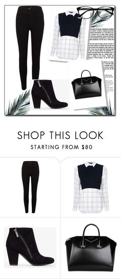 """Bez naslova #23"" by fazila-2 ❤ liked on Polyvore featuring River Island, Alice + Olivia, Givenchy and EyeBuyDirect.com"