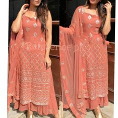 Indian Fashion Dresses, Dress Indian Style, Indian Designer Outfits, Muslim Fashion, Indian Outfits, Designer Dresses, Fashion Outfits, Shadi Dresses, Pakistani Formal Dresses
