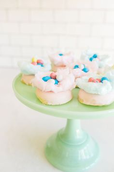 7 DIY Easter Desserts That Are Almost Too Cute to Eat - Cotton Candy Donuts  - from InStyle.com