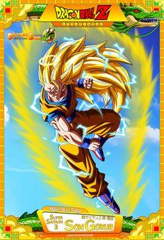 Dragon Ball Z - Super Saiyajin 3 Son Gokuh by DBCProject.deviantart.com on @DeviantArt