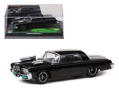 """""""Black Beauty From Movie """"Green Hornet"""" Diecast Model Car 1/43 by Vitesse - Brand new 1:43 scale diecast car model of Green Hornet """"Black Beauty"""" Moviedie cast car by Vitesse. Brand new box. Rubber tires. Detailed interior, exterior. Dimensions approximately L-4 inches.-Weight: 1. Height: 5. Width: 9. Box Weight: 1. Box Width: 9. Box Height: 5. Box Depth: 5"""
