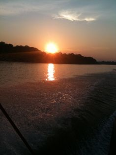 Sunset over the Amazon River upriver from Leticia, Colombia