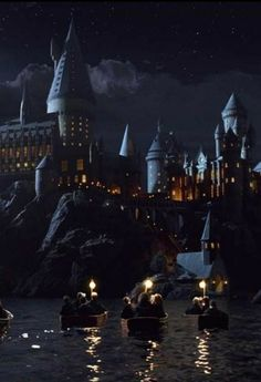 """if muggles came upon Hogwarts, it would look like a decrepit building with a """"keep out: dangerous"""" sign on it"""