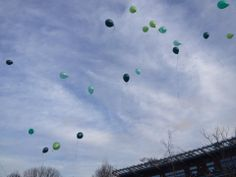 Green day 2012, every year on green day the  school released green balloons in to air to remember Charlie.