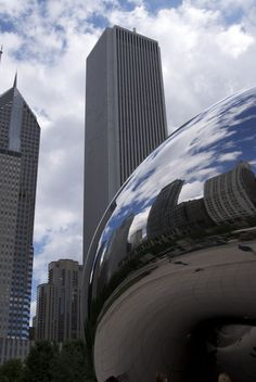 Millenium Park #Chicago - I've never been!! It was being built when I lived there!