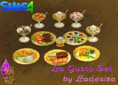 Ladesire Creative Corner: La Gusto Set by Ladesire • Sims 4 Downloads